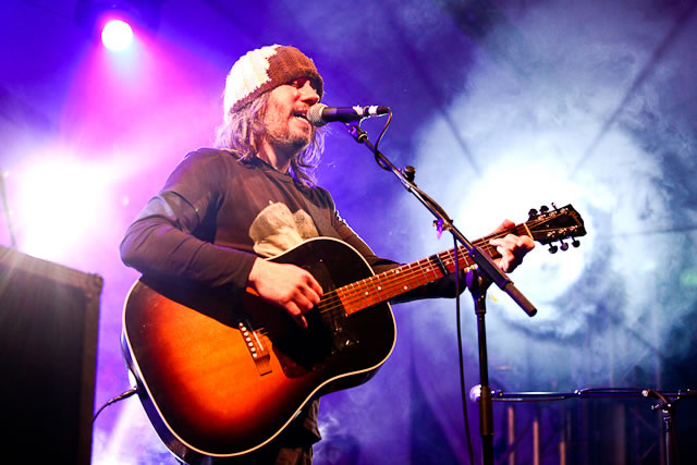 Badly Drawn Boy performs at FOM Fest Manchester 2011 | Friends of Mine Festival: Capesthorne Hall, Macclesfield