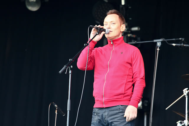 Terry Christian at FOM fest Manchester 2011 | Friends of Mine Festival: Capesthorne Hall, Macclesfield