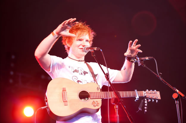 Ed Sheeran ML11 0896 | The Magic Loungeabout