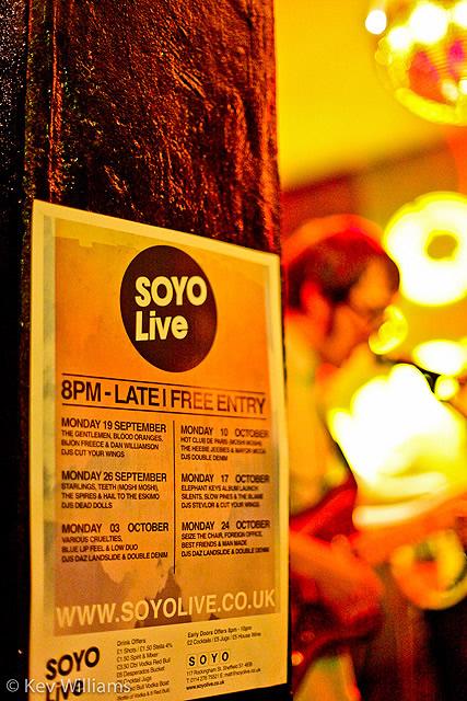 IMG 7167 | Mayor McCa, Mad Colours and Hot Club De Paris: Soyo Live, Sheffield