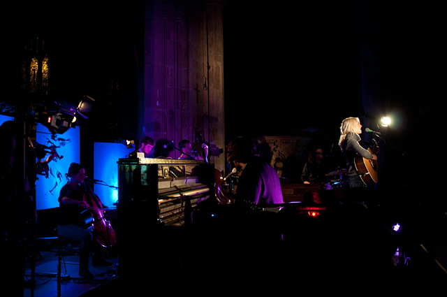 Laura Marling Evening 133 | Laura Marling and The Leisure Society at Sheffield Cathedral