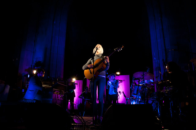 Laura Marling Evening 22 | Laura Marling and The Leisure Society at Sheffield Cathedral