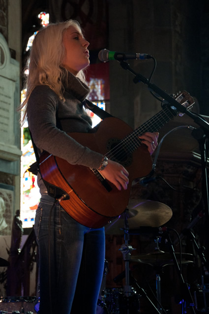 Laura Marling1 | Laura Marling and The Leisure Society at Sheffield Cathedral