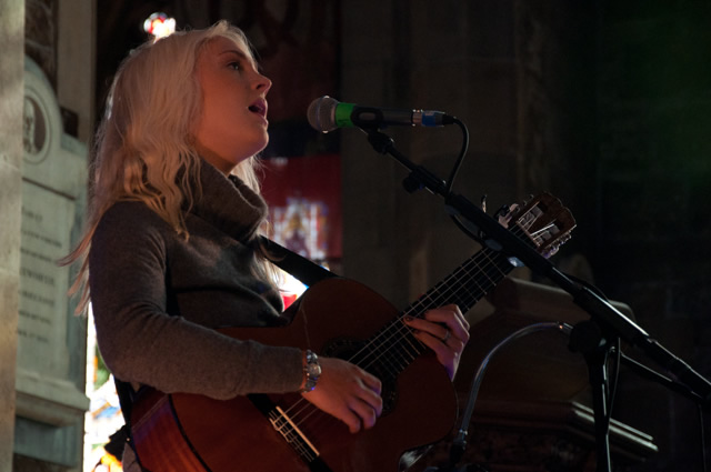 Laura Marling2 | Laura Marling and The Leisure Society at Sheffield Cathedral