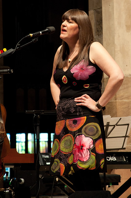 Marry Waterson and Oliver Knight1 | Eliza Carthy Band: Sheffield Cathedral