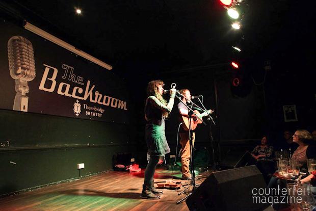 Jonny Kearney Lucy Farrell 03 | Jonny Kearney and Lucy Farrell, Neil McSweeney: The Greystones, Sheffield