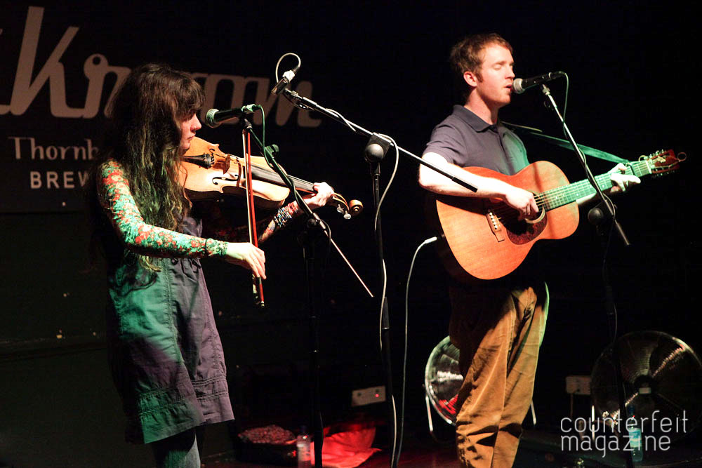 Jonny Kearney Lucy Farrell 07 | Jonny Kearney and Lucy Farrell, Neil McSweeney: The Greystones, Sheffield