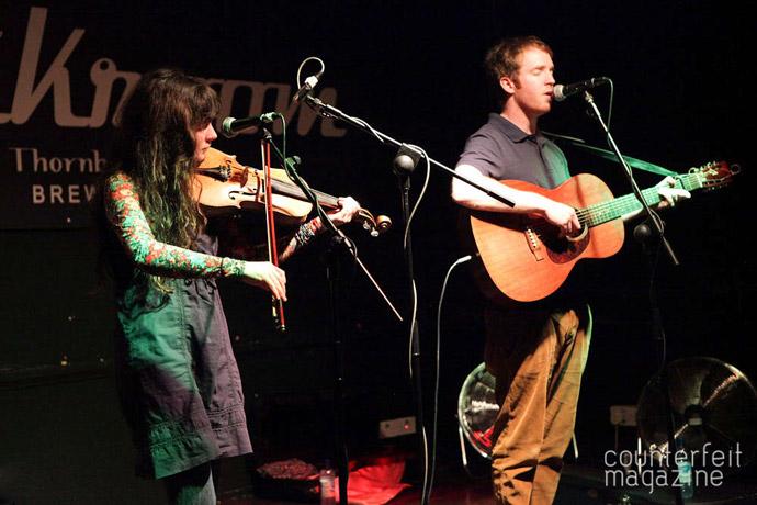 Jonny Kearney Lucy Farrell 071 | Jonny Kearney and Lucy Farrell, Neil McSweeney: The Greystones, Sheffield