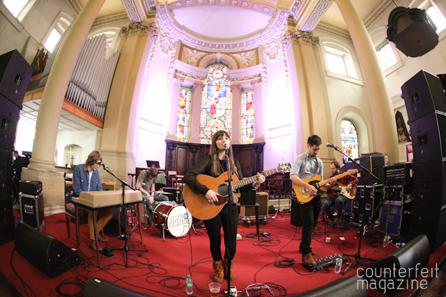 Ellen and the Escapades Holy Trinity Church | Live at Leeds 2012