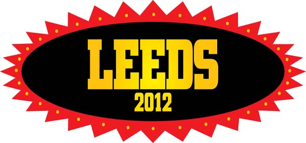 Leeds 2012 logo | Leeds Festival, 24 26th August: Bramham Park, Leeds.