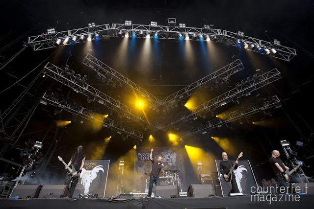 Paradise Lost Ronnie James Dio Stage Bloodstock 2012 Photos Jamie Boynton56   Bloodstock Open Air 2012: Catton Hall, Derbyshire