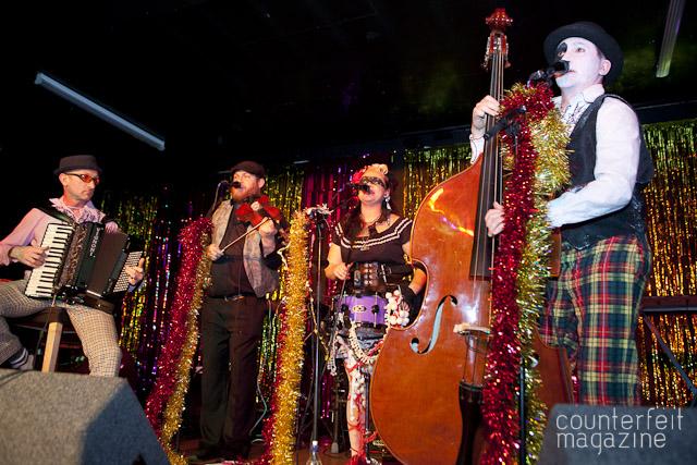 The Balkan Bandits Queens Social Club Sheffield JB 3   Electric Swing Circus: Queens Social Club, Sheffield