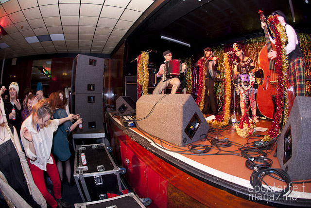 The Balkan Bandits Queens Social Club Sheffield JB   Electric Swing Circus: Queens Social Club, Sheffield