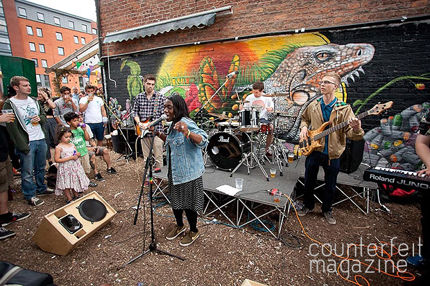 Dnae and the Indigo Sound Project The Riverside Photo Jamie Boynton81 | The weekend that was Tramlines 2013
