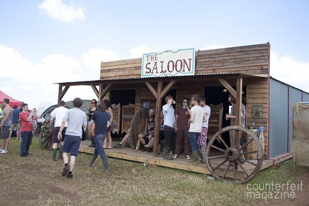 The Saloon YNOT Festival 20133 | Y Not Festival 2013: Derbyshire