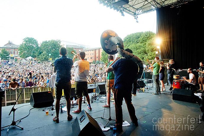 Renegade Brass Band7841   Tramlines 2014: Part 1
