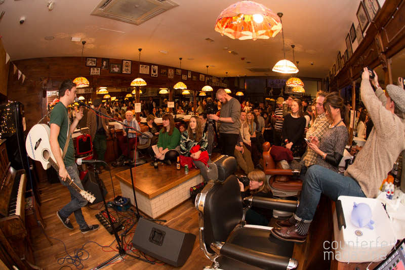 Josh Kemp Sofar Sounds Sheffield 2 | The Half Earth + Support: Savills Barbers, Sheffield
