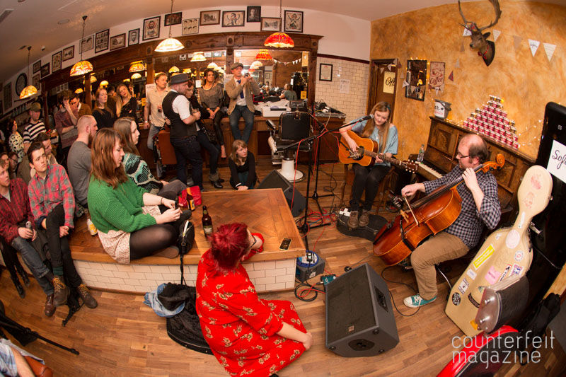 Laura James and the Lyers Sofar Sounds Sheffield 2 | The Half Earth + Support: Savills Barbers, Sheffield