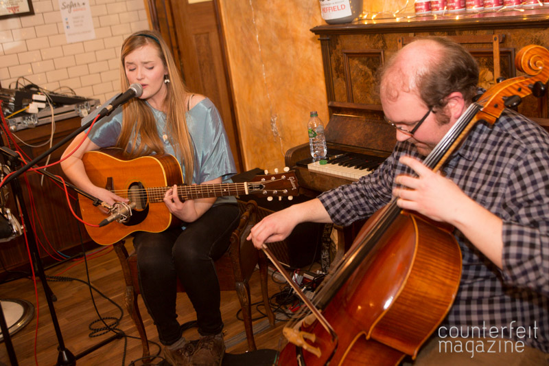 Laura James and the Lyers Sofar Sounds Sheffield 4 | The Half Earth + Support: Savills Barbers, Sheffield