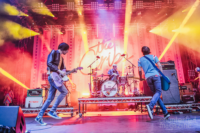 05 160722 The Cribs  | The Cribs: Millennium Square, Leeds