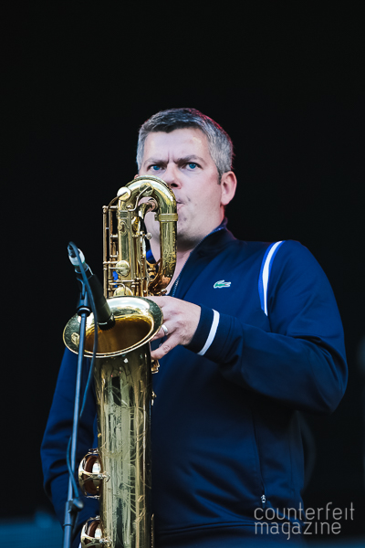 06 The Haggis Horns Andy Sainter | OnRoundhay Festival: Roundhay Park, Leeds