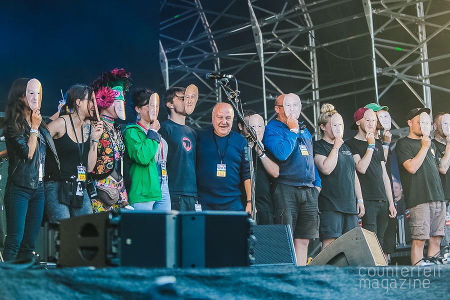 12 Harvey Goldsmith Andy Sainter   OnRoundhay Festival: Roundhay Park, Leeds