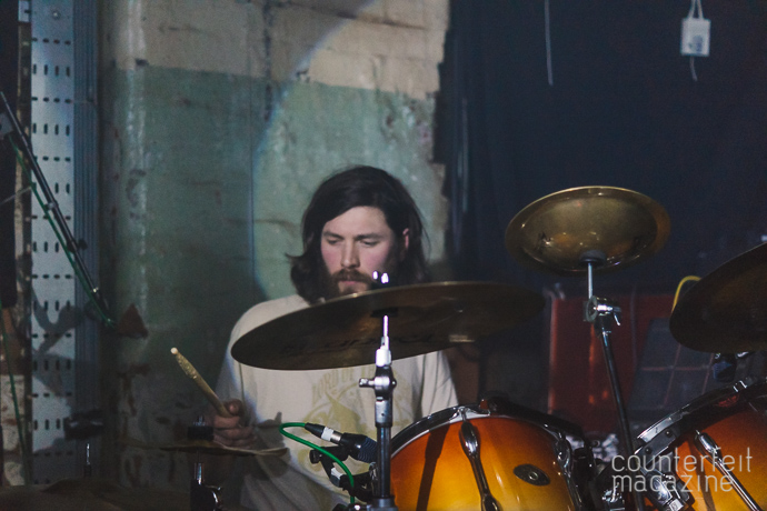 02 20160221 Esben The Witch Phil King | Esben & The Witch: Soup Kitchen, Manchester