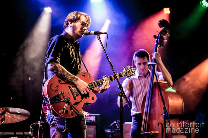 02 20170517 X Ray Cat Trio Mark Wheelright | Jim Jones & The Righteous Mind: Brudenell, Leeds
