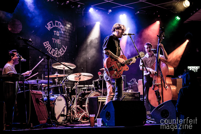 03 20170517 X Ray Cat Trio Mark Wheelright | Jim Jones & The Righteous Mind: Brudenell, Leeds