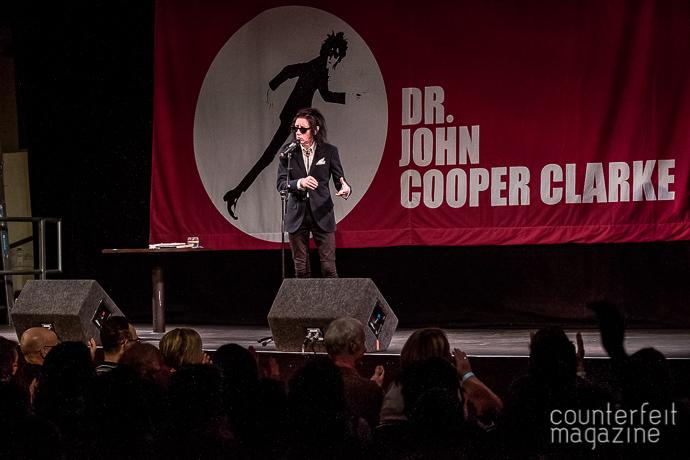 17 20170505 John Cooper Clark John Jowitt | Dr. John Cooper Clarke: Unity Works, Wakefield