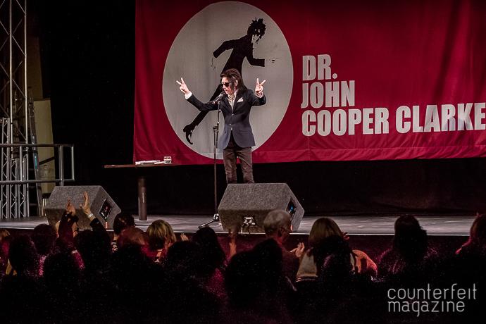 19 20170505 John Cooper Clark John Jowitt | Dr. John Cooper Clarke: Unity Works, Wakefield