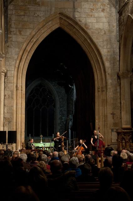 Eliza Carthy5 | Eliza Carthy Band: Sheffield Cathedral