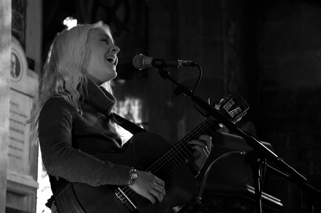 Laura Marling3 | Laura Marling and The Leisure Society at Sheffield Cathedral