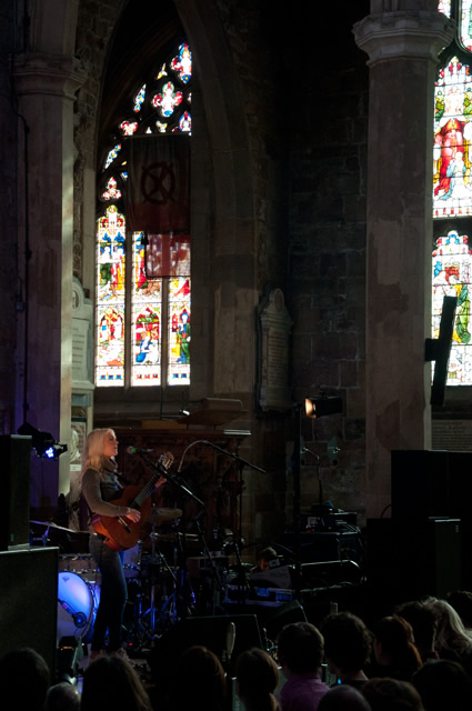 Laura Marling4   Laura Marling and The Leisure Society at Sheffield Cathedral
