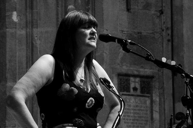 Marry Waterson and Oliver Knight3 | Eliza Carthy Band: Sheffield Cathedral
