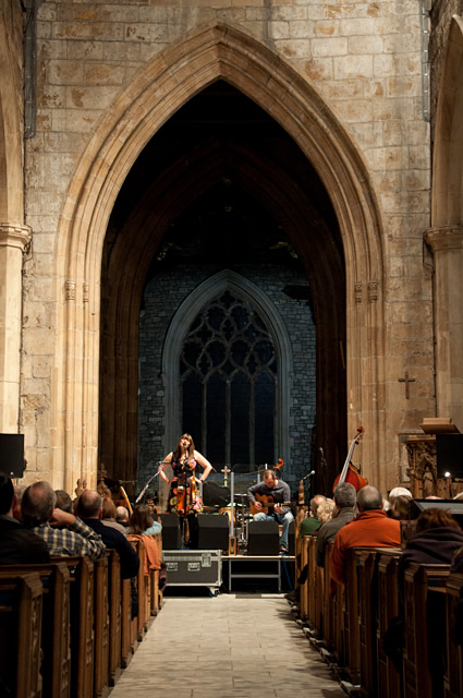 Marry Waterson and Oliver Knight4 | Eliza Carthy Band: Sheffield Cathedral