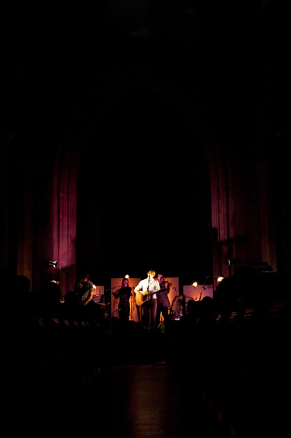 The Leisure Society4 | Laura Marling and The Leisure Society at Sheffield Cathedral