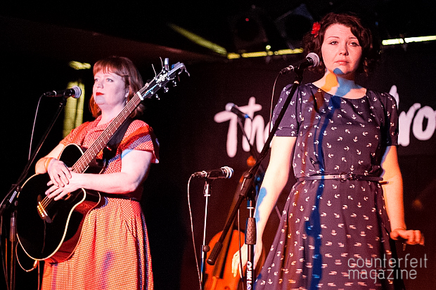 Cornshed Sisters 4 | The Futureheads and The Cornshed Sisters: The Wardrobe, Leeds