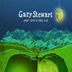 Year And A Day Artwork for onlinefront cover2 | Gary Stewart: Year and a Day E.P (Babaganoush Records)