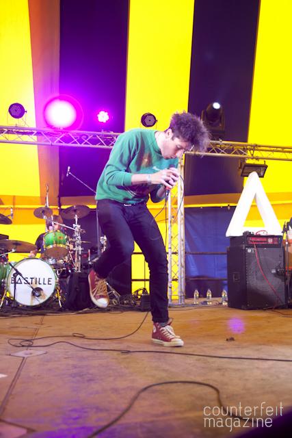 Bastille Y Not Festival 2012 29 | Y Not Festival: Pikehall Farm, Matlock.
