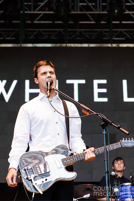 White Lies Bingley Music Live 3 | Bingley Music Live 2012: Myrtle Park