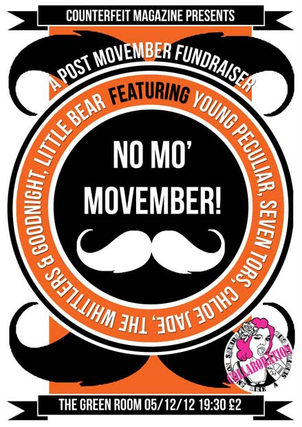 mov | No Mo Movember, 5th December: The Green Room
