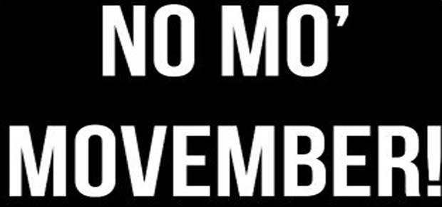 movember | No Mo Movember, 5th December: The Green Room