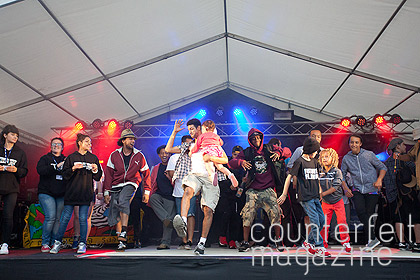 Hiphop and RB Showcase The Peace Gardens5   Tramlines Sunday: In Photos