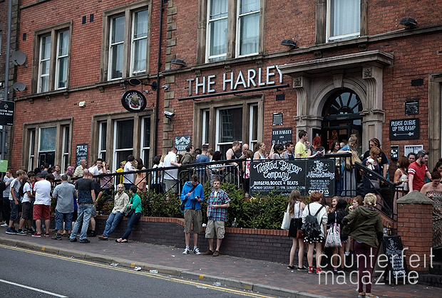 Public Service Broadcasting The Harley Rich Linley 02 | Tramlines Saturday