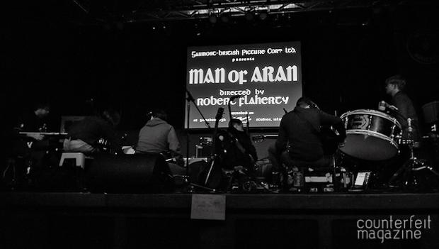 "British Sea Power at The Belgrave Music Hall 1 | British Sea Power ""Man Of Aran"": Belgrave Music Hall, Leeds"