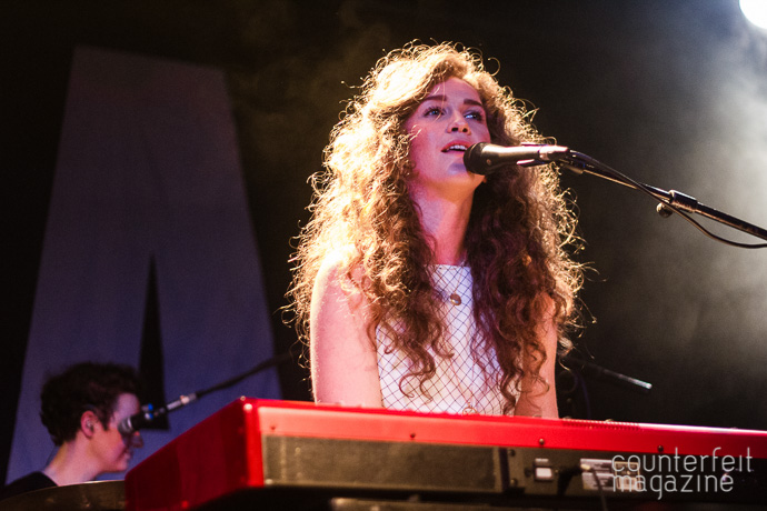 04 141016 Beckett University Student Union Rae Morris | George Ezra: Beckett University Union: Leeds