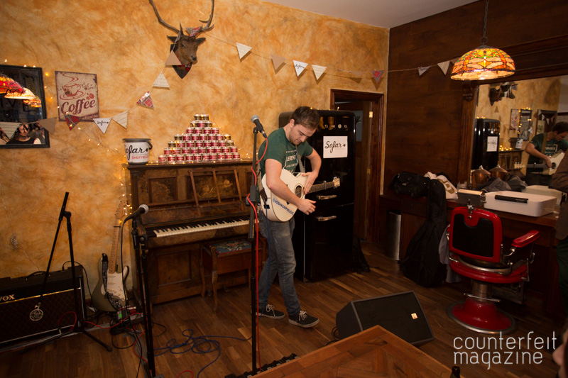 Josh Kemp Sofar Sounds Sheffield | The Half Earth + Support: Savills Barbers, Sheffield