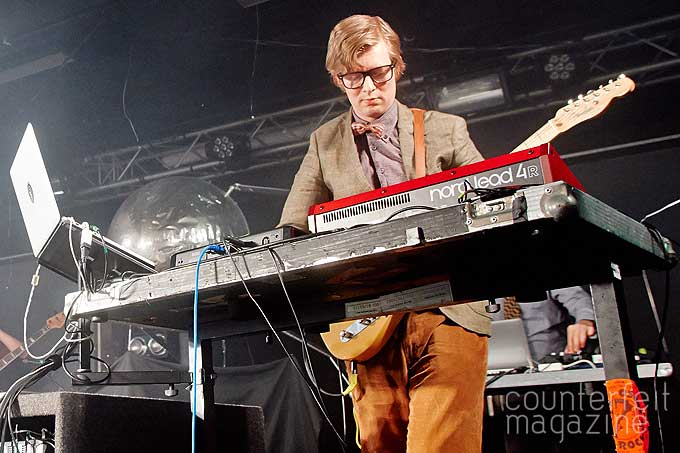 Public Service BroadcastingJenn McCambridge0253 | Public Service Broadcasting and Smoke Fairies: Foundry, Sheffield