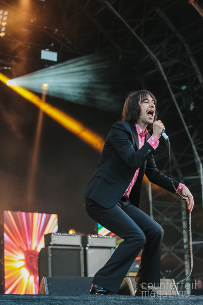 24 Primal Scream Andy Sainter | OnRoundhay Festival: Roundhay Park, Leeds
